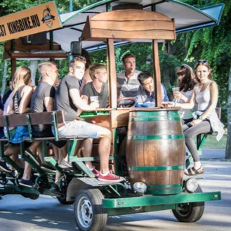 Beer bike Tours in Budapest