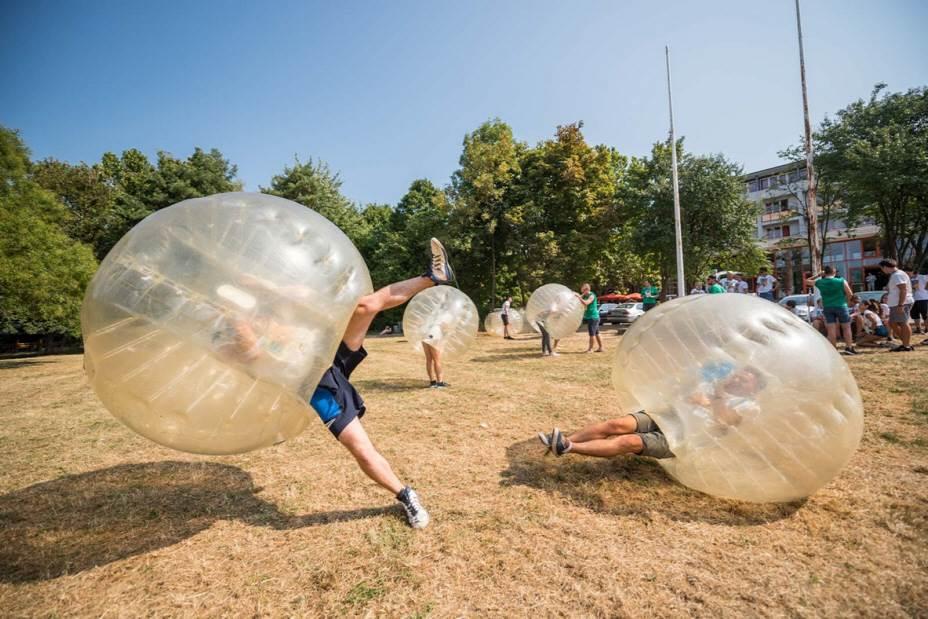 Bubble Football Budapest