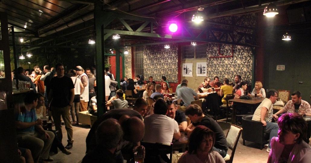 beer tour budapest élesztőház