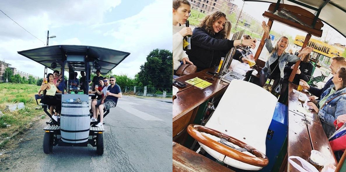 beer bike budapest banned