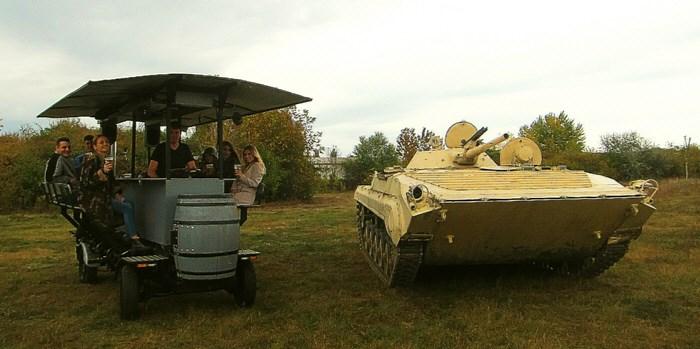 BMP Tank vezetés