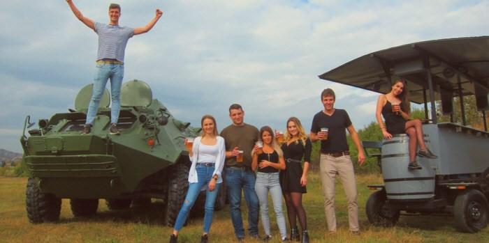 BTR Harckocsi vezetés