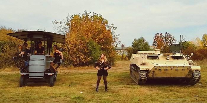 MTLB Tank vezetés
