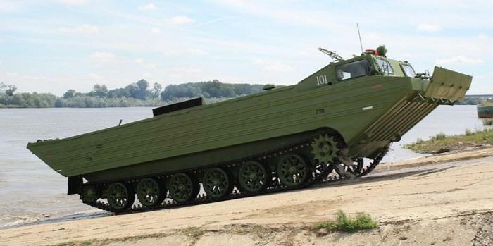 PTSZ-M Tank vezetés