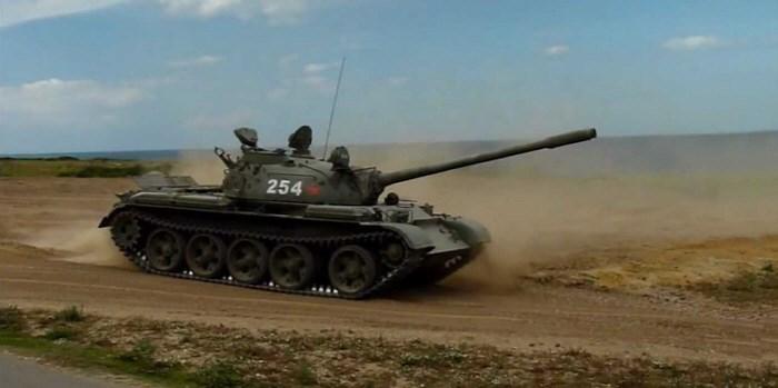 T55 Tank vezetés