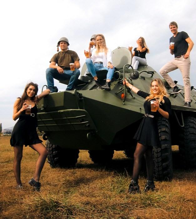 BTR harckocsi