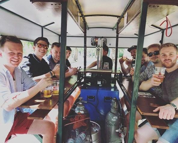 Beerbike Budapesten